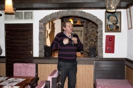 выступление А. Браславского на праздничном вечере