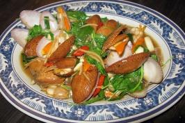 Варёные моллюски