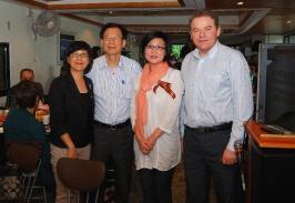 председатель РК Тайвань А. Браславский с представителями мэрии Тайбэя