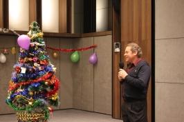 выступление председателя РК Тайвань А. Браславского на открытии Новогодней Елки