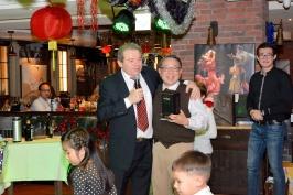 председатель РК Тайвань А. Браславский и главний инженер TTRI Ло Чунг