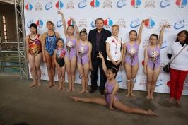 председатель РК Тайвань А. Браславский среди участников турнира